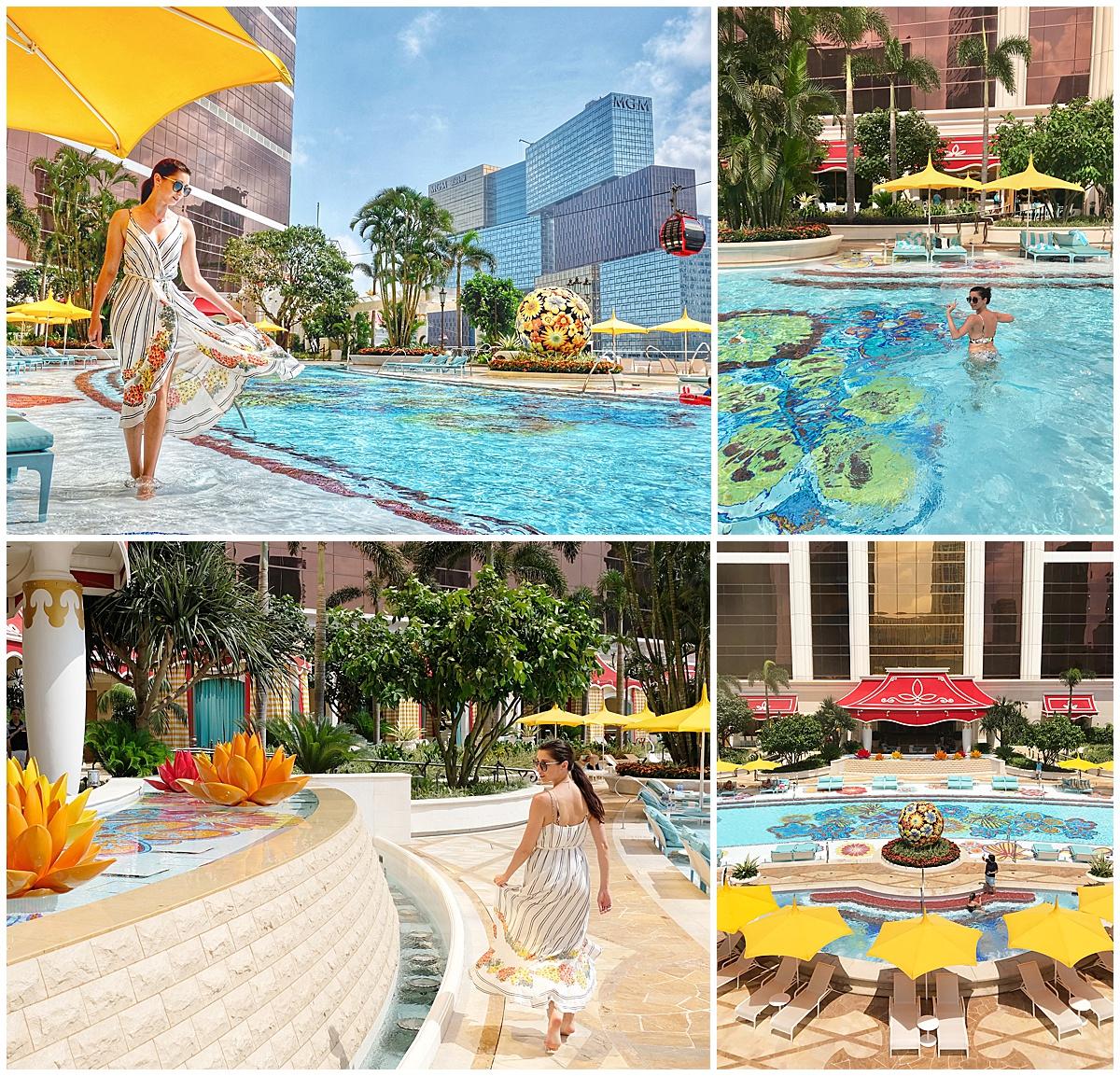 Wynn Palace Swimming Pool