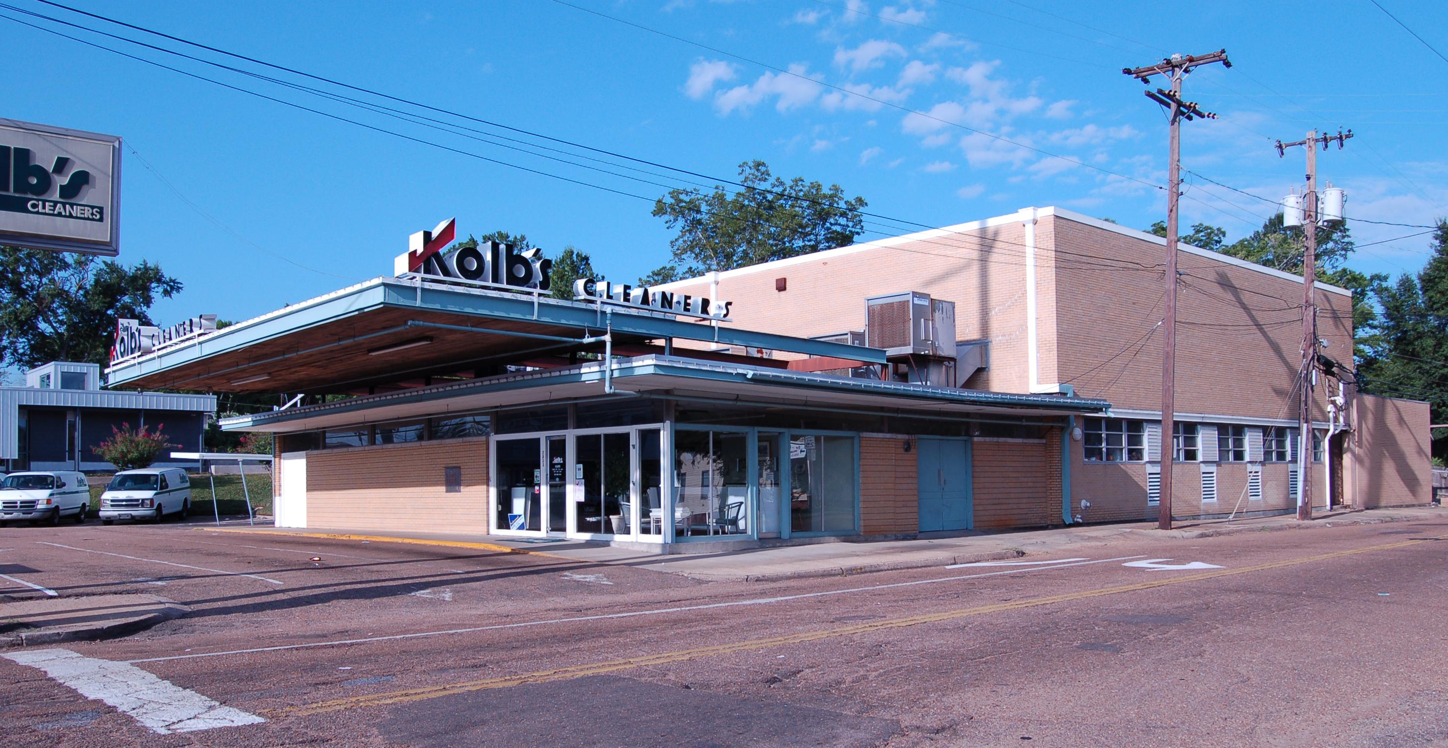 Kolb's Cleaners, Fondren neighborhood, Jackson
