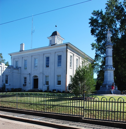 Carroll County Courthouse (1878), James Clark Harris, archt., T.W. Parker and A. Larimore, builders