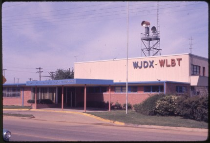 WJDX - WLBT building. Shankle, Hugh W., Collection. Courtesy of the Mississippi Department of Archives and History.