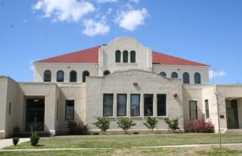 Wathall School, Hattiesburg, Forrest County. Photo by J. Rosenberg, MDAH 3-12-10 From MDAH HRI retreived 01-16-2013