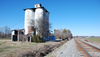 Cotton Gin & Grain Elevator. Thornton, Holmes County, Photo by J. Baughn, MDAH 01-27-2011 Retrieved from MDAH HRI database 2-20-13