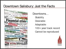 Slide 30, Downtown Salisbury, Just the Facts. by Randy Hemann, Downtown Salisbury, Inc. Salisbury, NC Presented April 26-27, 2012