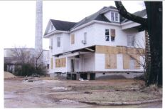 South east elevation view Spain House in new location Jan 2013 from NR nomination from MDAH HRI accessed 10-14-2013