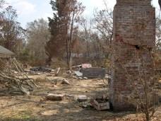 remains of Sullivan House. Ocean Springs Jackson County. MDAH 9-13-2005 from MDAH HRI db accessed 8-24-2005