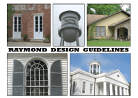 Cover Reymond Design Guidelines 2009