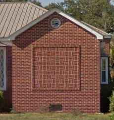 Brick Panel Detail 455 Forest Ave Biloxi Google Street View Nov 2016