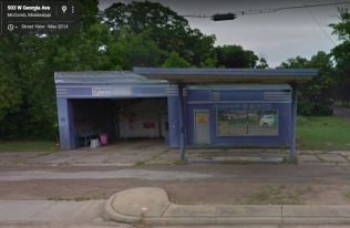 former Pan Am Station McComb, Mississippi May 2014 Google Streetview