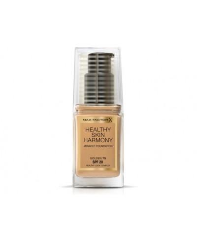 Base de maquillaje skin harmony numero 75 golden. Max factor