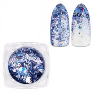 Purpurina Glitter Mix color azul 26