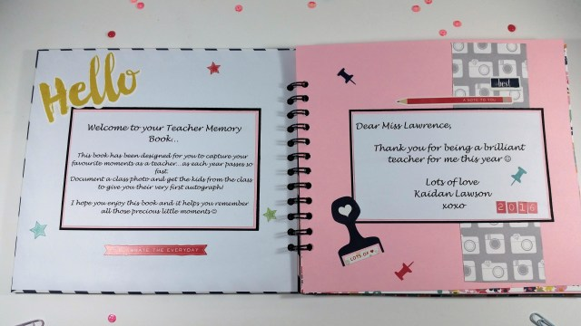Teacher Memory Book 2