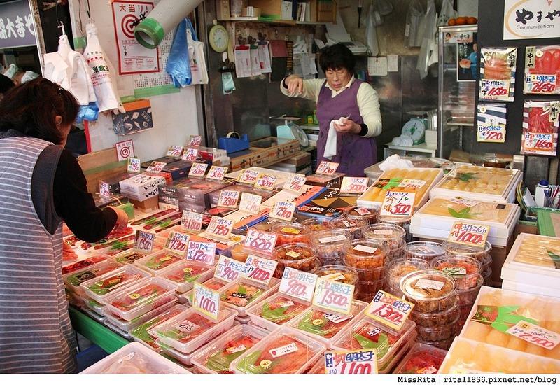 日本東京 築地市場 逛街 生魚片 丼飯 推薦美食7