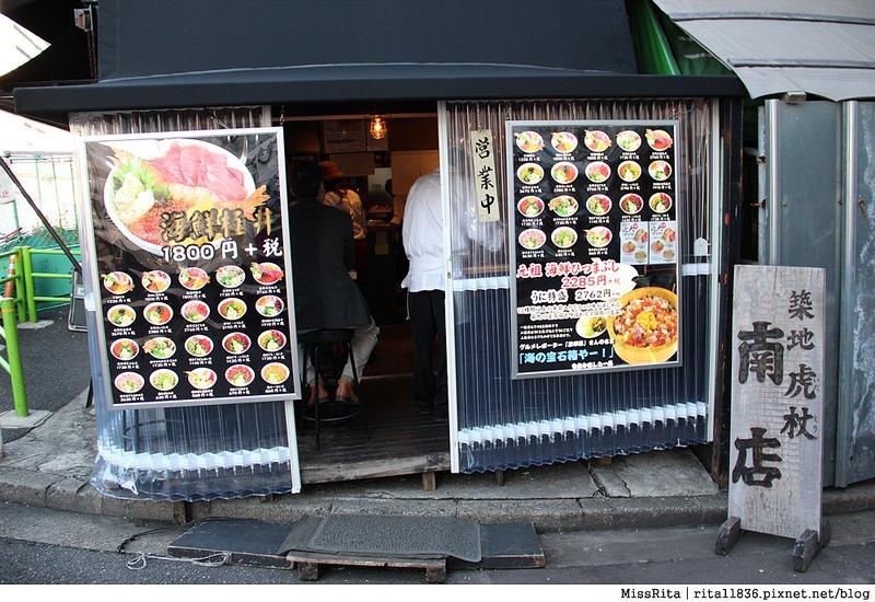 日本東京 築地市場 逛街 生魚片 丼飯 推薦美食31