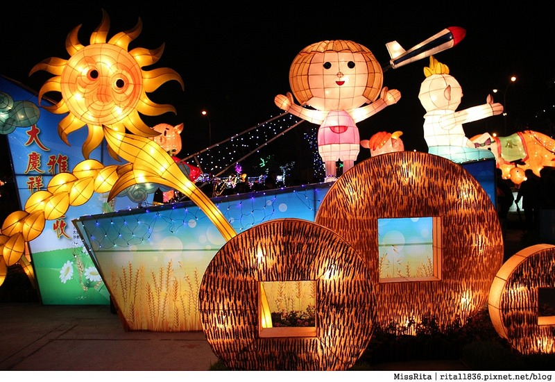 2015 台灣燈會 烏日燈會 台灣燈會烏日高鐵區 2015燈會主燈38