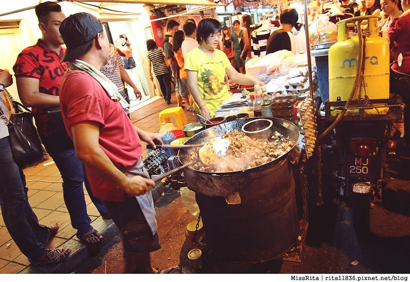 馬來西亞 馬六甲好玩 雞場街 雞場街夜市 地理學家咖啡館47