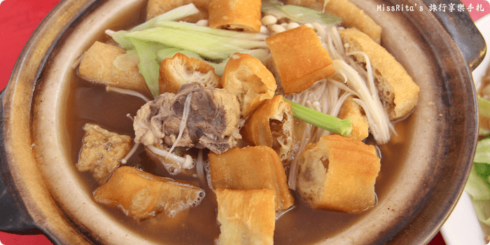 馬來西亞美食 馬六甲美食 肉骨茶 喜德潮州肉骨茶館0-