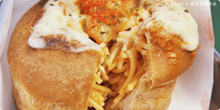 台中一中街好吃 一中麵包彈 義麵焗烤法國球 一中街美食0-