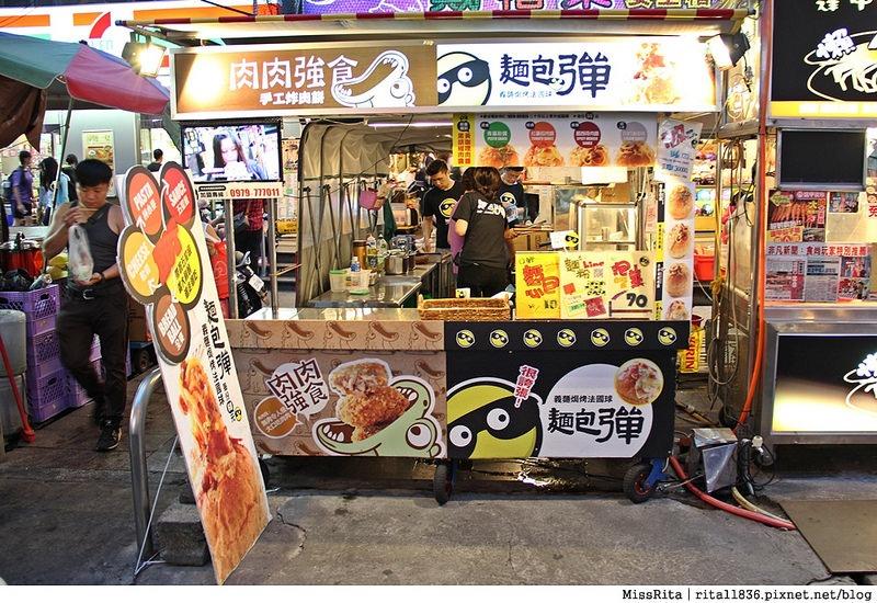台中一中街好吃 一中麵包彈 義麵焗烤法國球 一中街美食1 (2)