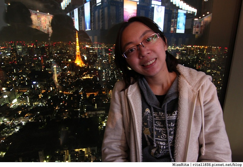 日本東京 東京夜景 六本木之丘 六本木Hills 六本木夜景 Tokyo city view 六本木大道 東京聖誕點燈 2014東京點燈5