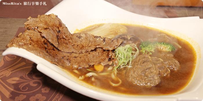 台中公益好吃 炙牛食創堂 Flaming Bull 炙牛牛肉麵 炙燒牛肉麵0-