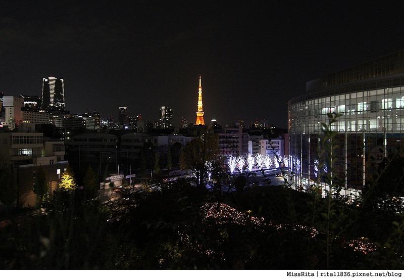 日本東京 東京夜景 六本木之丘 六本木Hills 六本木夜景 Tokyo city view 六本木大道 東京聖誕點燈 2014東京點燈1