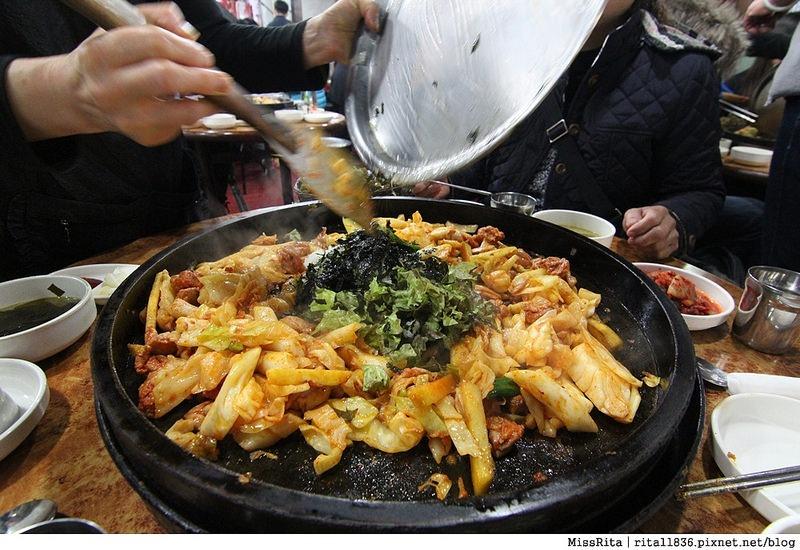 韓國 春川辣炒雞 春川辣炒雞排 春川明洞 春川明洞辣炒雞排 韓國好吃8