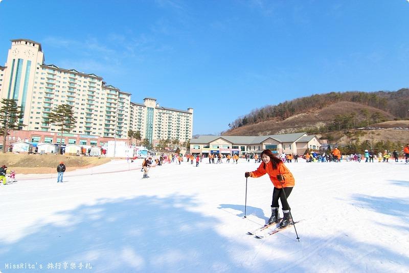 韓國滑雪 韓國滑雪度假村 韓國滑雪場 奧麗山莊渡假村 Oak Valley Oak Valley滑雪場 江原道滑雪 韓國滑雪推薦 오크밸리스키장0