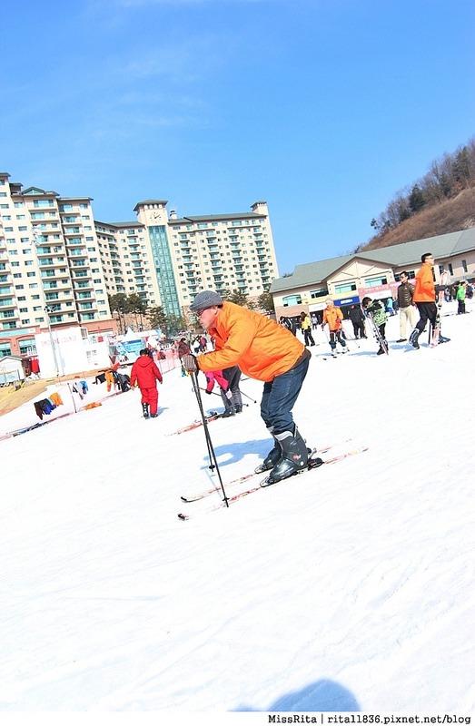 韓國滑雪 韓國滑雪度假村 韓國滑雪場 奧麗山莊渡假村 Oak Valley Oak Valley滑雪場 江原道滑雪 韓國滑雪推薦 오크밸리스키장10