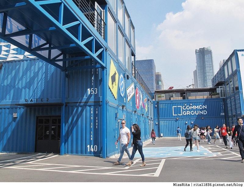 首爾景點 藍色貨櫃屋 common ground 首爾建大 建大捷運站 首爾潮流 2016韓國景點 韓國團體 韓國自由行 世界最大貨櫃屋商城 建大貨櫃屋商場 MARKET GROUND 8