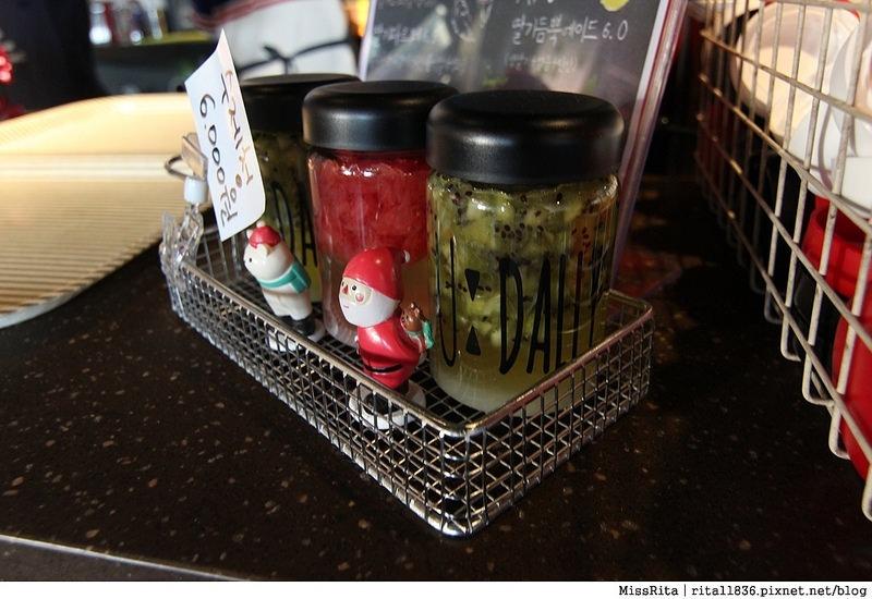 釜山咖啡廳 釜山美食 釜山西面 U:Dally udally Busan u dally西面 韓國草莓奶昔5
