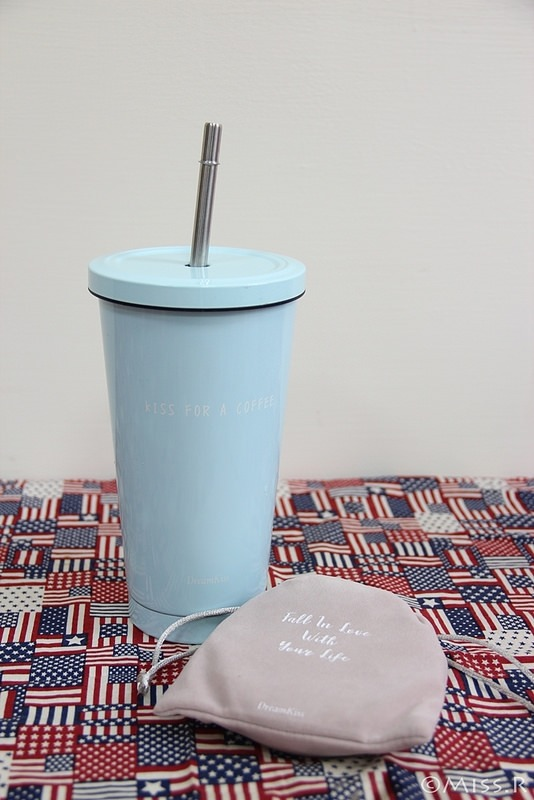 DreamKiss 甜言夢語 不鏽鋼杯 自備杯子優惠 不鏽鋼吸管 隨手杯 棉花糖杯 棉花糖吸管杯 吸管刷 304不鏽鋼7