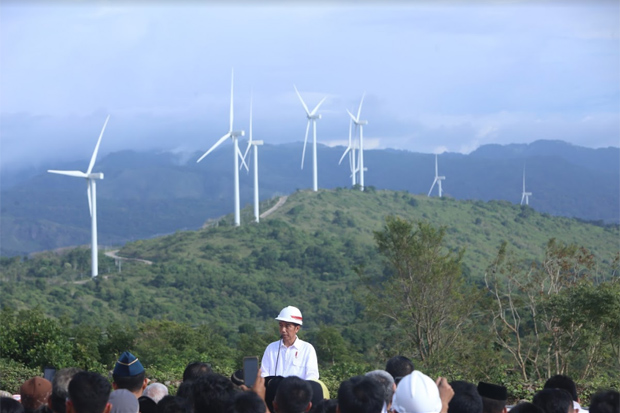 The First Commercial Wind Power Generation is Build in Indonesia