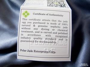 Polar Jade Medium Nephrite Jade Egg