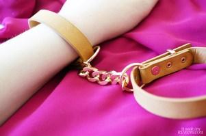 Bijoux Indiscrets Maze Choker, Wrist & Ankle Cuffs 12