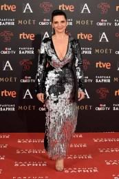 Juliette Binoche vestida de Loewe
