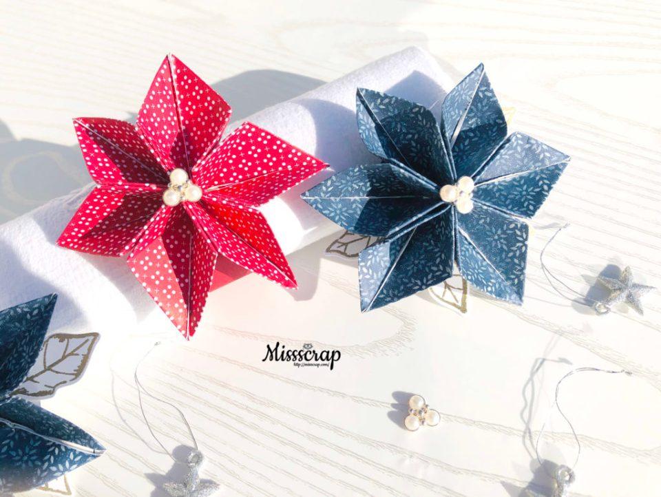 poinsettia origami