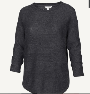 Harpenden Textured Dip Hem Jumper Was £35 Now £20