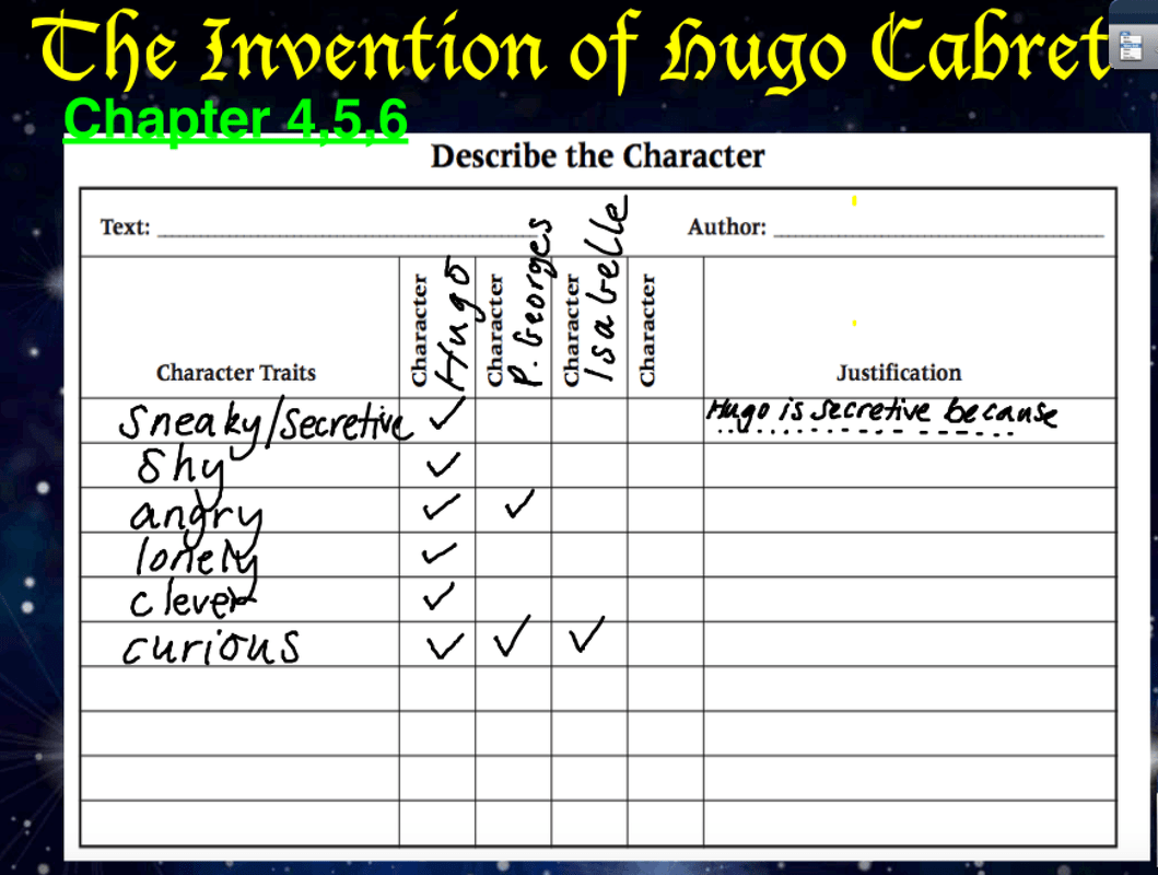 Reading The Invention Of Hugo Cabret