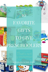 10 Favorite Gifts to Give preschoolers, preschool gifts, gift ideas for preschool, birthday preschool gifts, preschool christmas gifts, gifts for preschoolers, best toddler toys