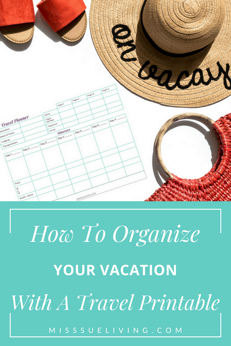 picture relating to Vacation Planning Printable named How In direction of Set up Your Trip With A Push Printable ~ Miss out on