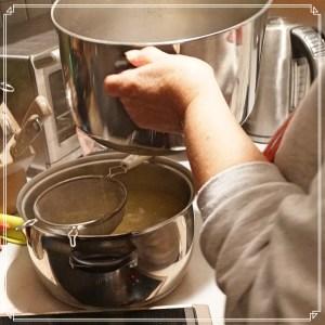 soup-drainage