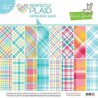 Miss Tiina for Lawn Fawn - Perfectly Plaid Collection Pack