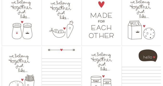 We belong together just like…