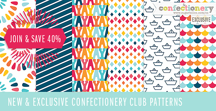NEW and EXCLUSIVE Mixed Patterns 6 + 40% OFF NEW MEMBERSHIPS