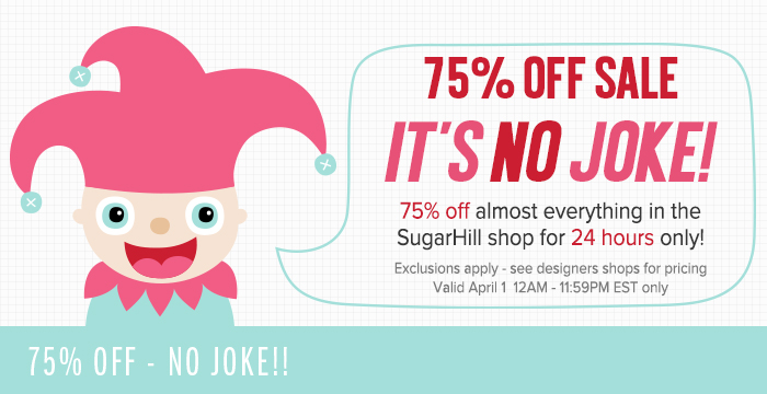 24 HOUR 75% OFF SALE ON NOW!!