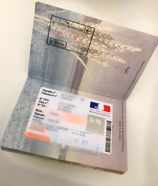 French visa