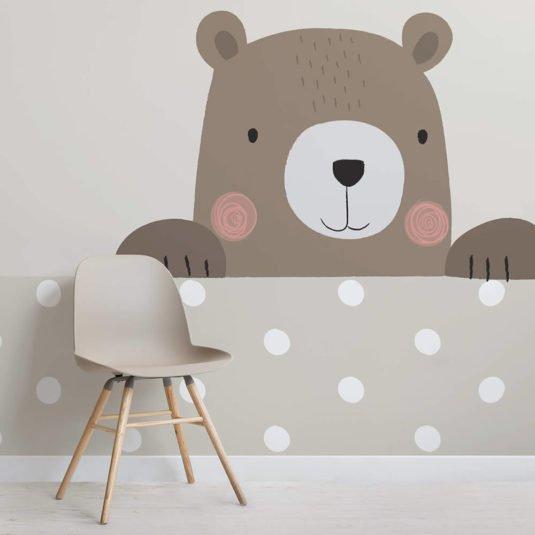 Nursery Wallpaper - Bernie