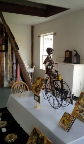 Sculpture and mixed media art by Sharon and Daniel