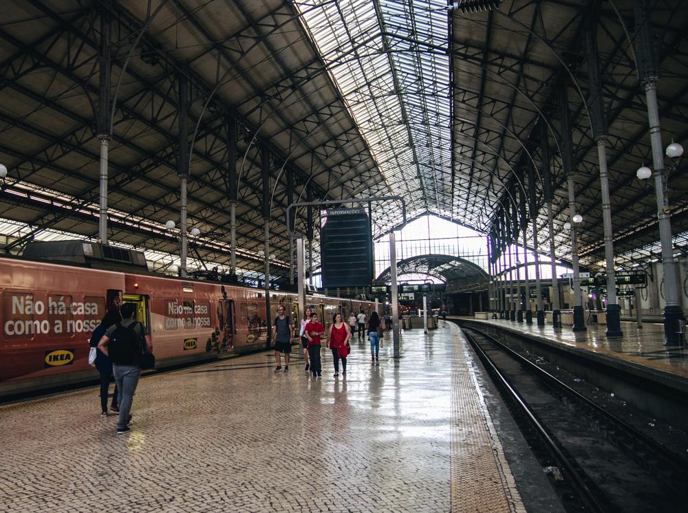 Train station Rossio, Lisbon