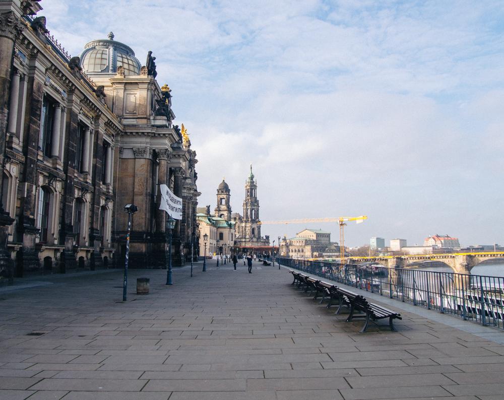 Brühl's Terrace, Dresden
